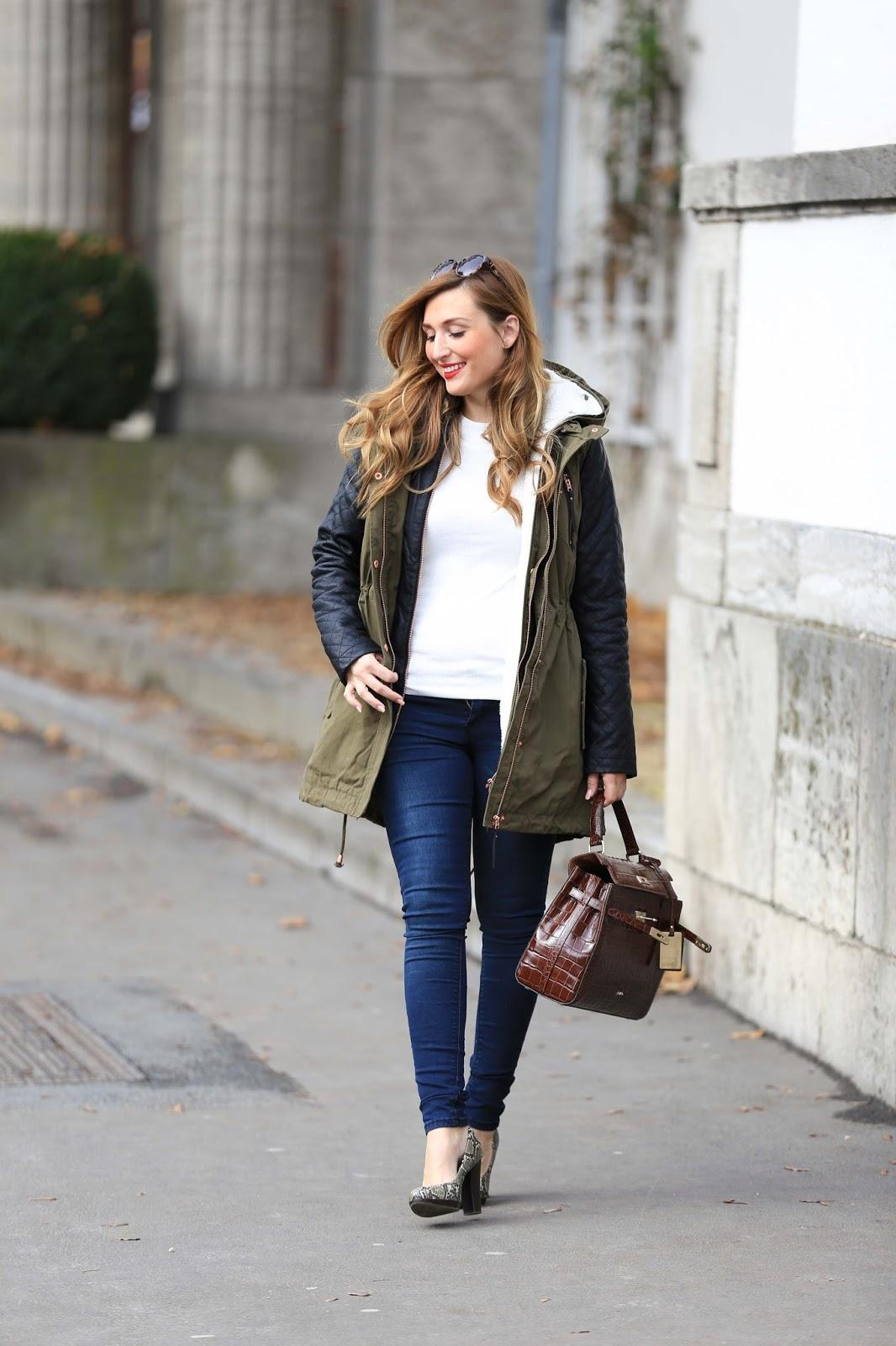 Winter-Street-Style-Picard-Tasche-Tasche-wie-von-Hermes-Fashionstylebyjohanna-Lifestyleblogger-Frakfurt-Fashionblogger-Blogger-aus fRANKFURT-Lifestyleblogger-Wellenstynjacke-Winterjacke-Khaki-Jacke