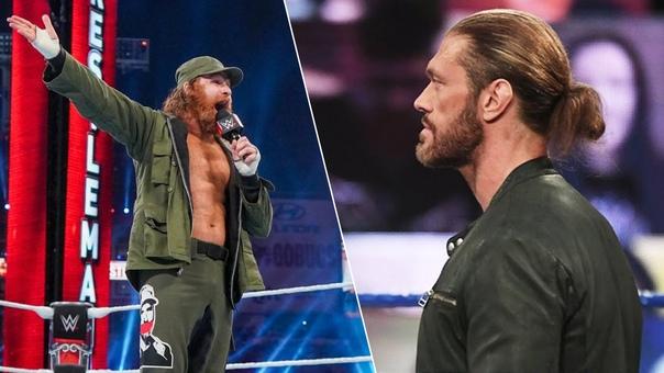 Эдж заявил, что хотел бы сразится в WWE с Сэми Зейном