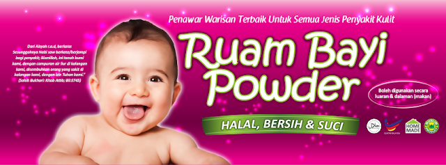 PSORIASIS WITH RUAM BAYI POWDER