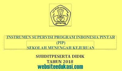 Instrumen Supervisi SMK Tahun 2018