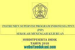 Instrumen Supervisi SMK Tahun 2018 Terbaru