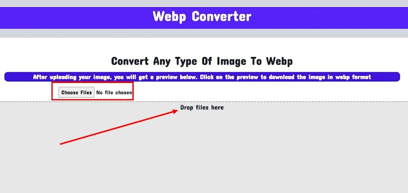 Image to WebP Converter Tool Script for Blogger - Responsive Blogger Template