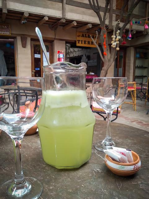 Lemonade in Tilcara, Argentina