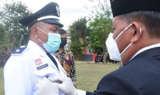 Ados Kepala Desa Sebungkuh menghimbau agar dengan dirayakannya Isra Miraj kerukunan umat beragaman terjaga