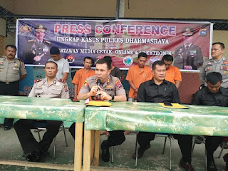 Polres Dharmasraya Ungkap Kasus Curanmor Lintas Daerah