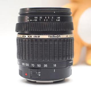 Lensa Tamron 18-200mm for Canon Bekas