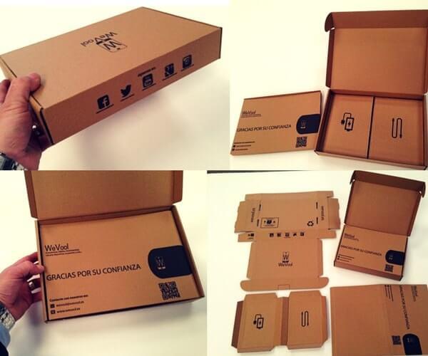 cajas de cartón personalizadas para tablets