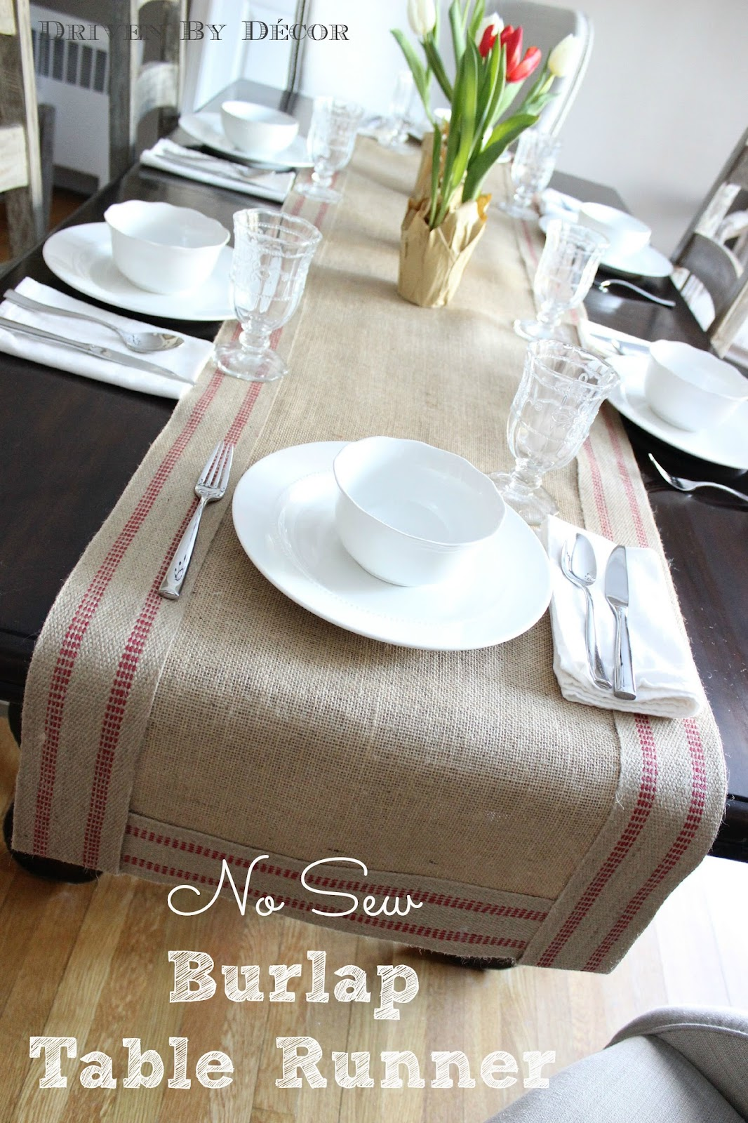 Elegant Try Out This No Sew Burlap Table Runner {tutorial Here} U2013 It Couldnu0027t Be  Easier And You Can Choose From All Sorts Of Different Colors For The Jute  Border: