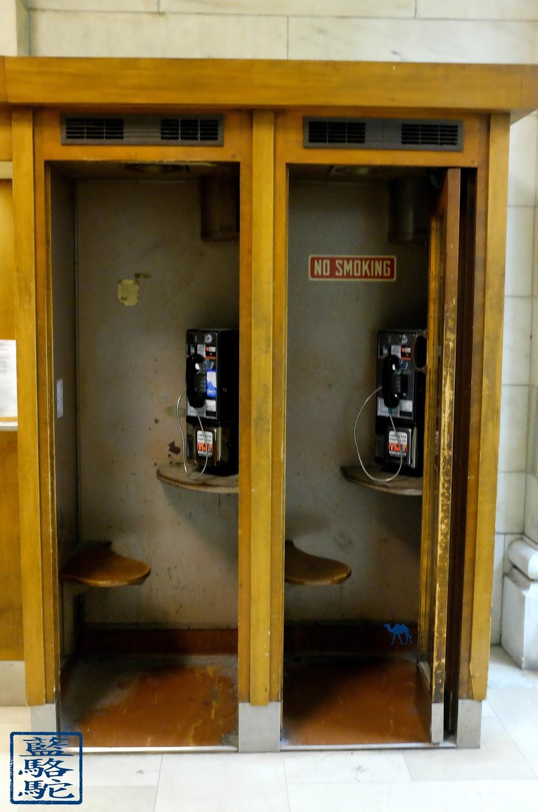 Le Chameau Bleu -  New York - Téléphone de NYPL