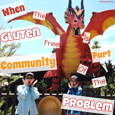 When the Gluten Free Community is Part of the Problem