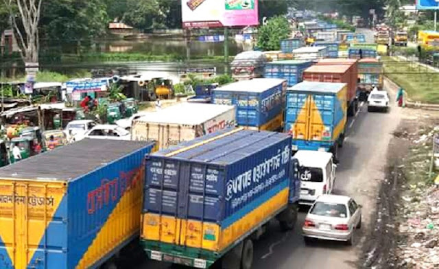 Dhaka-Chittagong-highway-remained-closed-due-to-traffic-congestion