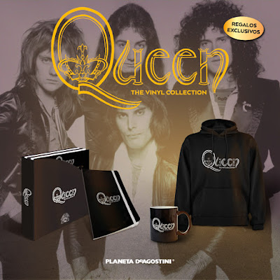 Regalos de la colección 'Queen The Vinyl Collection'