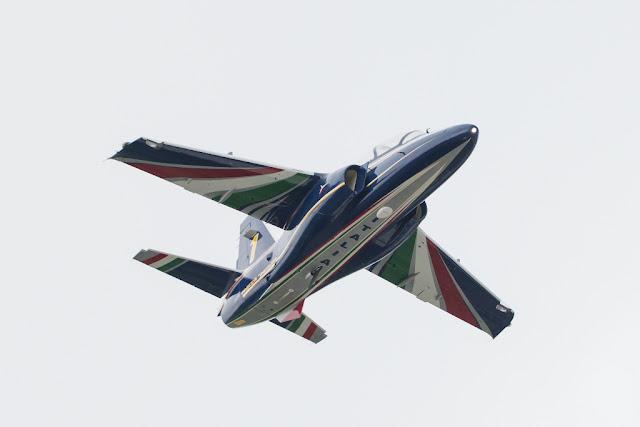 FRECCE TRICOLORI NEW AIRCRAFT