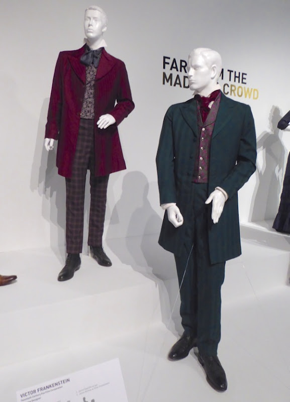 Original Victor Frankenstein film costumes