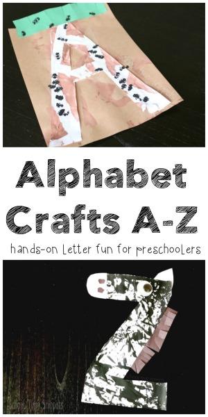 26 alphabet letter crafts