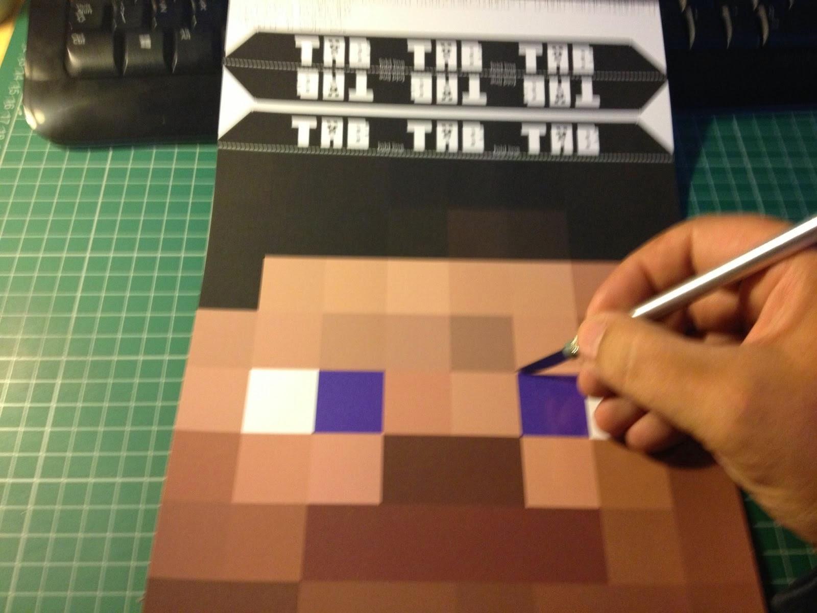 Máscaras de Minecraft para Imprimir Gratis. | Ideas y material ...