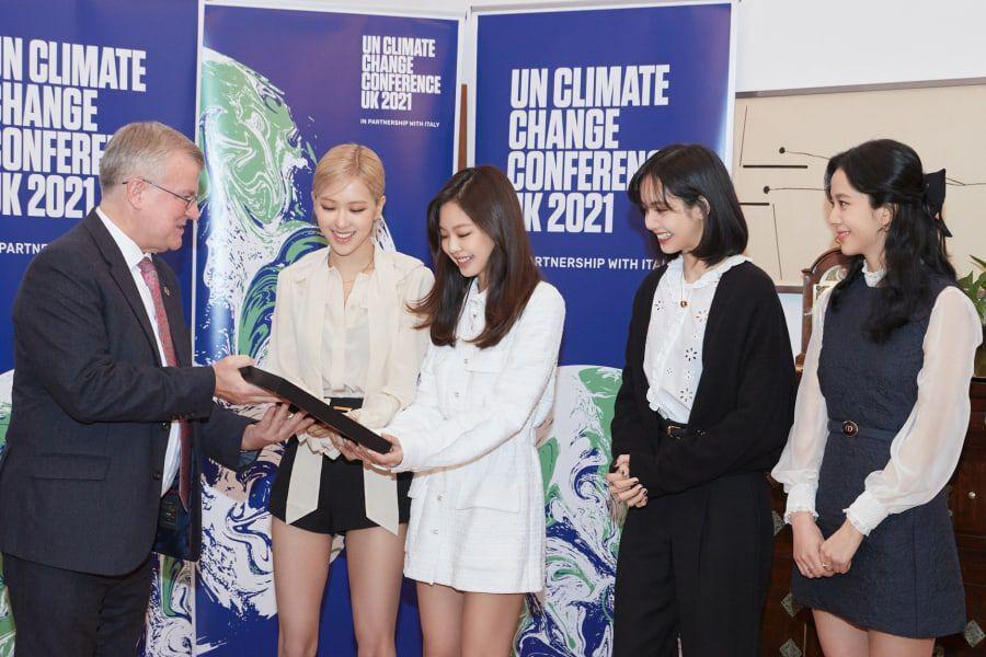 BLACKPINK Chosen as Global Ambassador for 'UN Climate Change Conference UK 2021'