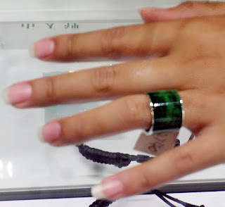 Jade ring for sale