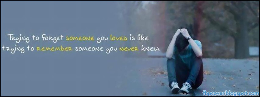 Sad Love Facebook Covers