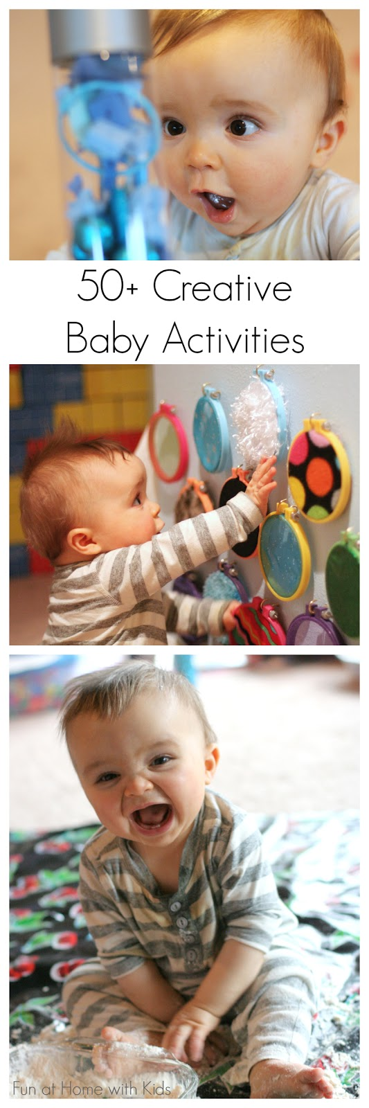 50 Creative Activities For Babies