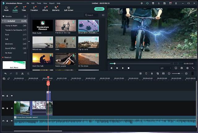 Wondershare Filmora X v10 For macOS free download