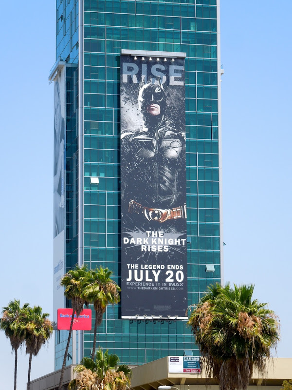 Dark Knight Rises Batman billboard