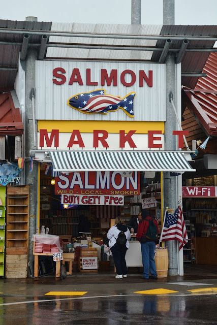 Ketchikan Alaska Salmon Market