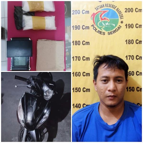 Pengedar Sabu Sebanyak 118.20 Gram Ditangkap Polisi