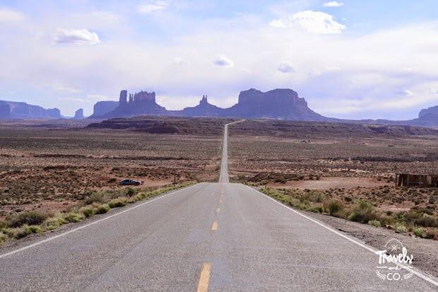 ruta en coche por los parques nacionales de Estados Unidos Monument Valley