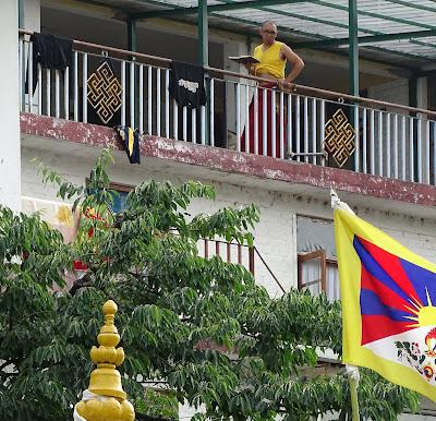 El contacto con los monjes y con personas tibetanas y indias fue muy enriquecedor