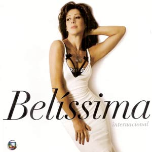 Capa CD da novela Belíssima