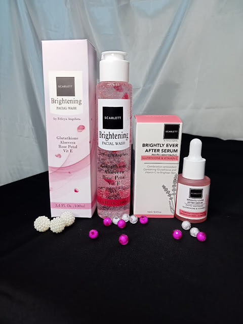Brightly Ever After Serum dan wash care