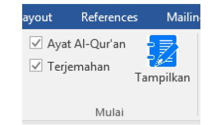 Cara Menggunakan Aplikasi Quran Kemenag in Word
