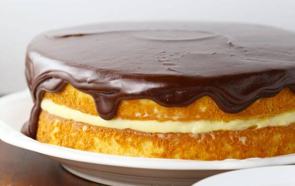 How to make a cake with batsière cream is easy