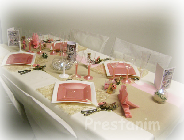 decoration mariage table champetre. Black Bedroom Furniture Sets. Home Design Ideas
