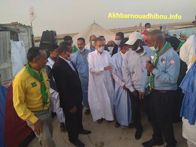 نواذيبو : فعاليات إفتتاح أول مخيم كشفي ..- صور و فيديو