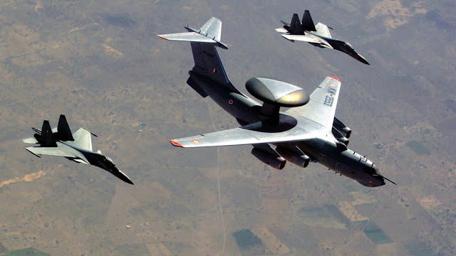 IAF Sukhoi Su-30 MKI Phalcon AEWC&S - 001