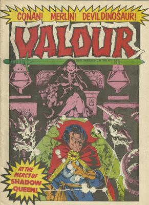Valour #9, Dr Strange