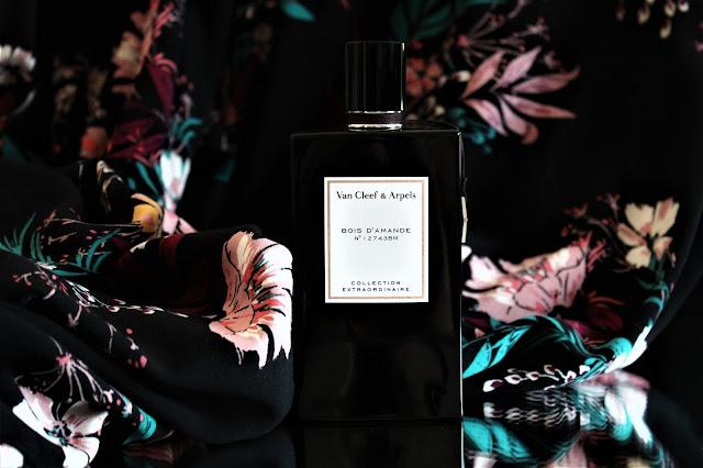 avis bois d'amande van cleef arpels, parfum bois d'amande, collection extraordinaire van cleef arpels, bois d'amande perfume review