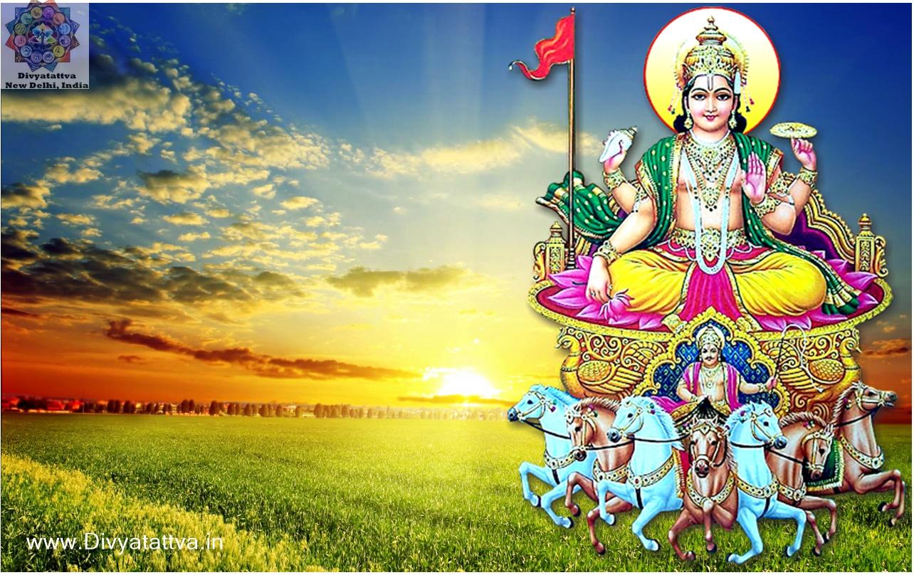 Sun God HD Wallpaper Surya Narayan Background Images Full Size