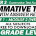 3RD QUARTER SUMMATIVE TEST NO. 1 with Answer Key (Modules 1-2)