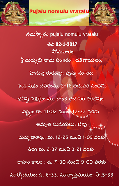 Today's panchangam in Telugu ,rasiphalau in telugu ,rasi phalalu in english