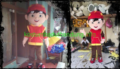 foto kostum karakter boiboi boy badut