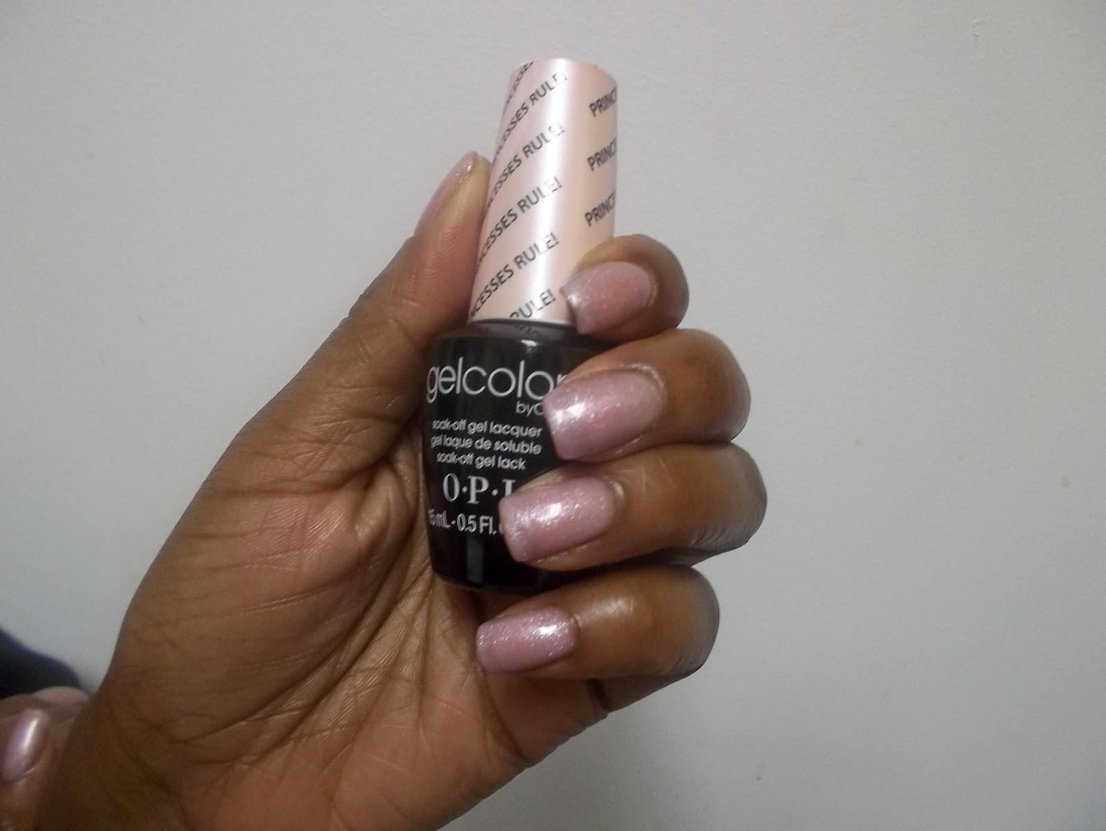Love Lipstick Amp Glitter The Return Of Nurse Jenny Feat Opi Gel Color In Princesses Rule