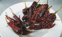 Kashmiri chilly and betki Chilly for chicken ghee roast recipe