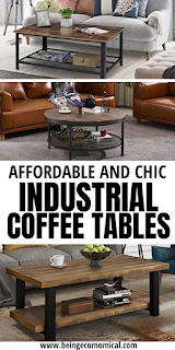Industrial Coffee Tables For Every Budget