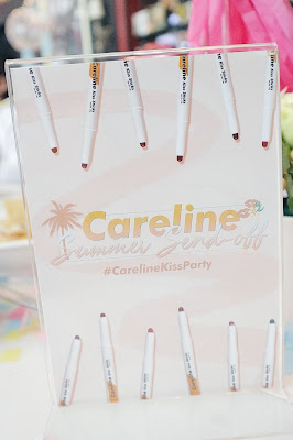 Careline Kiss Sticks Review Swatch
