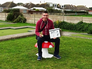 This year I won The Butler Cup Holiday on the Buses Crazy Golf tournament in Prestatyn, one of two tournaments I won in Wales