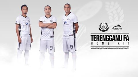 Jersi Home Pasukan Terengganu FA 2016