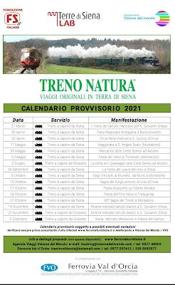 Trenonatura 2021 time table